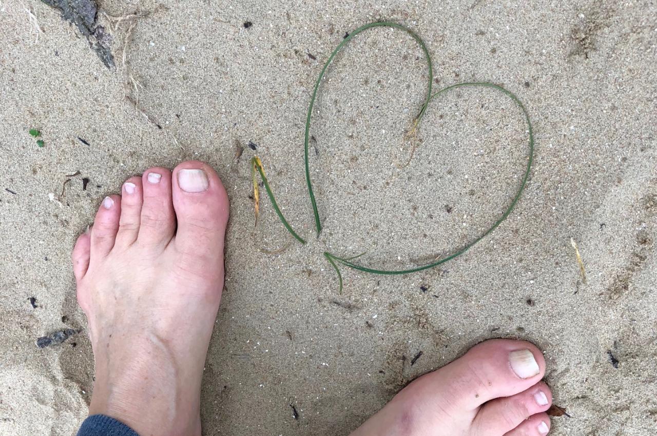 Liefde voor je (blote) voeten